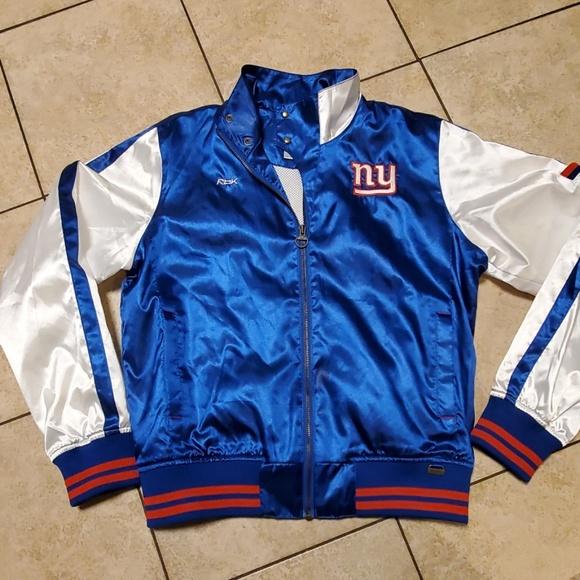 NFL Jackets & Blazers - 🏈NY Giants vintage reebok bomber jacket szL.